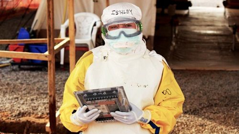 Google, Ebola virüsüyle mücadele eden doktorlar için özel bir tablet geliştirdi