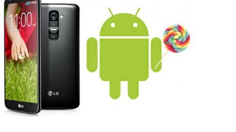 LG G2'ye Android 5.0 Lollipop 2.çeyrekte gelecek!