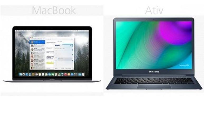 Yeni nesil MacBook ve Samsung Ativ Book 9 karşılaştırması