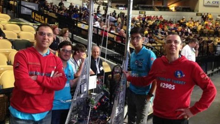 Darüşşafaka Robot Kulübü ABD'de ilk kez Dünya Şampiyonası'nda