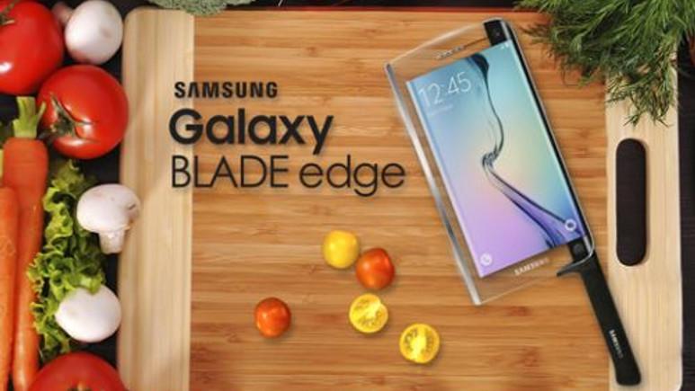 İşte dünyanın ilk akıllı telefon bıçağı: Samsung Blade Edge