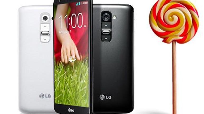 LG G2 için Android 5.0 Lollipop güncellemesi Avrupa'da başladı