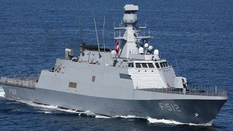 Yerli Savaş Gemisi TCG Büyükada, yurtdışında bayrağımızı dalgalandırıyor