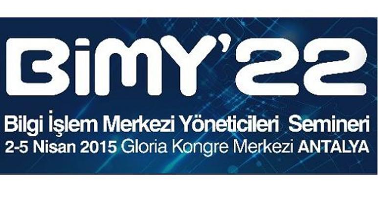Bilgi İşlem Merkezi Yöneticileri Semineri BİMY'22 yarın başlıyor!