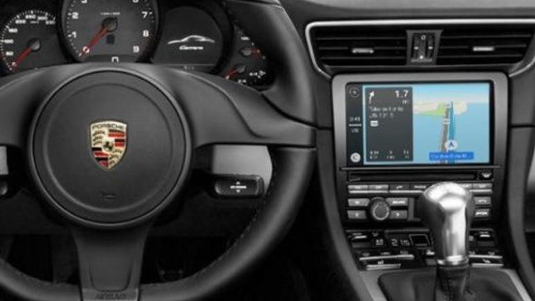 Porsche'nin yeni modelleri Apple CarPlay ile gelebilir!