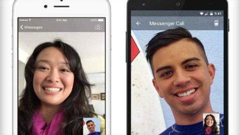 Facebook Messenger'a görüntülü konuşma özelliği geldi!