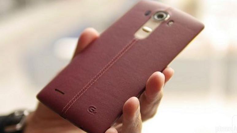 LG G4'ün deri arka kapağına yakından bakıyoruz