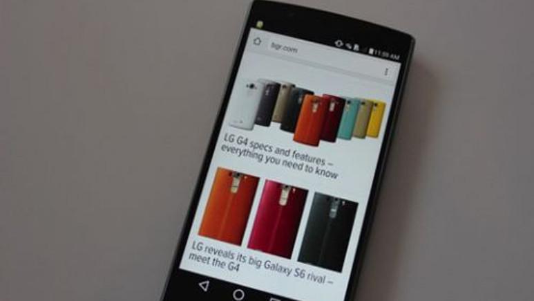 iPhone 6 Plus'ın LG'nin sitesinde ne işi var?