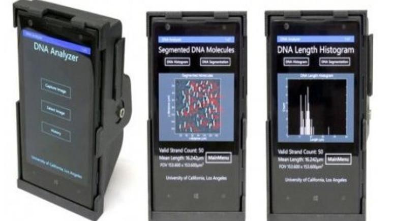 3D yazıcıyla akıllı telefonu DNA tarama mikroskobuna çevirdiler!