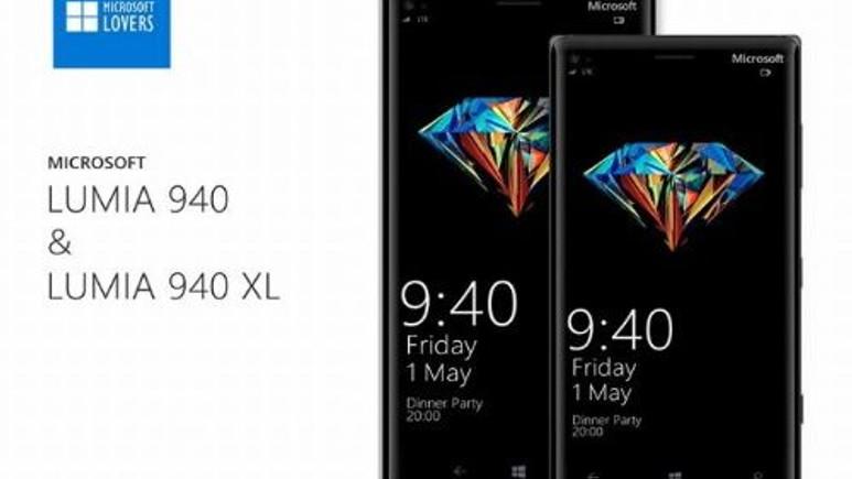 Microsoft Lumia 940 ve Lumia 940 XL, üstün özelliklerle geliyor!