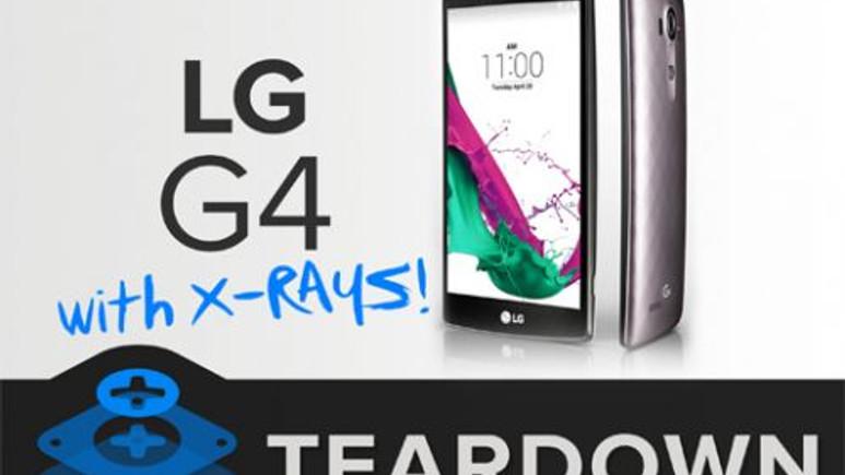 LG G4 parçalara ayrıldı