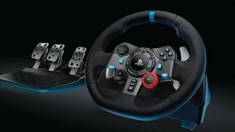 Logitech G'den PlayStation 4 için yeni direksiyon:  Logitech 29