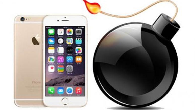 Apple iPhone 6 patladı!