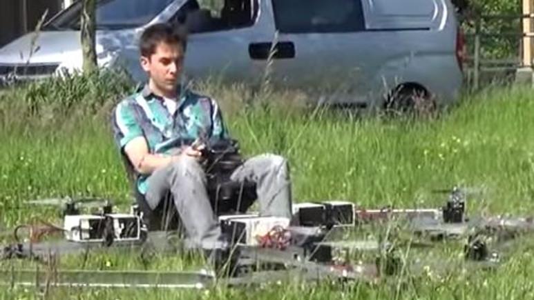 İnsan taşıyan Dronlar yakında gökyüzünde olacak! Video]