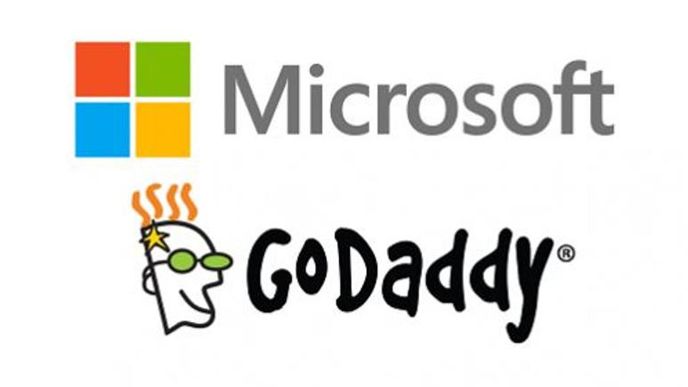 Microsoft ve GoDaddy güçlerini birleştirdi
