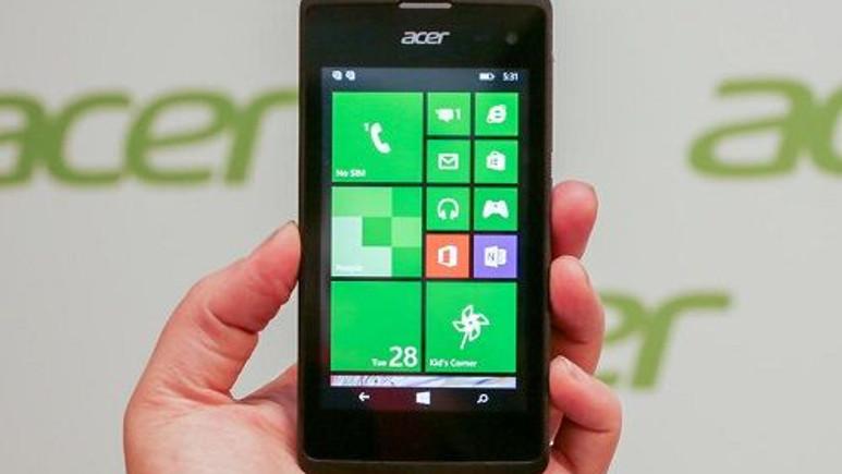 Acer'ın 80 dolar fiyatlı Windows Phone telefonu Liquid M220 satışa çıktı