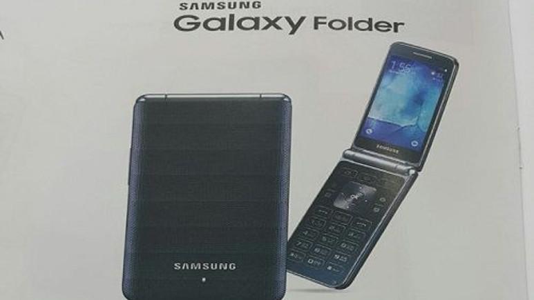 Samsung, kapaklı Galaxy Folder akıllı telefonu hazırlıyor