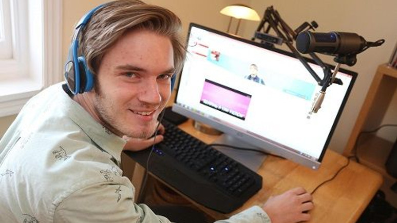 İsveçli Youtube fenomeni 1 yılda 6,5 milyon Euro kazandı