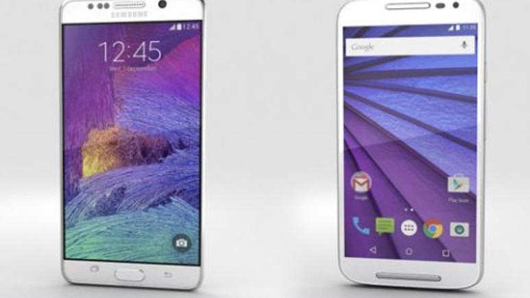 Galaxy Note 5 ve Moto G'nin (2015) şimdiye kadar yapılmış en iyi 3D tasarımı