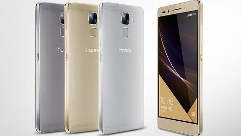Satış rekoru kıran Honor 7 global pazara açıldı