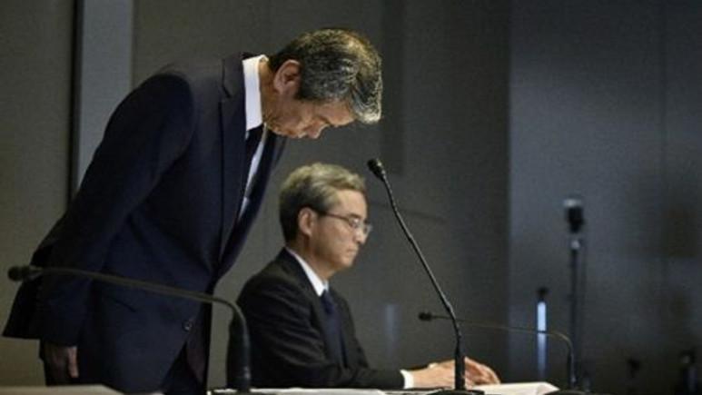 Toshiba CEO'su yaşanan yolsuzluklar sonrası istifa etti