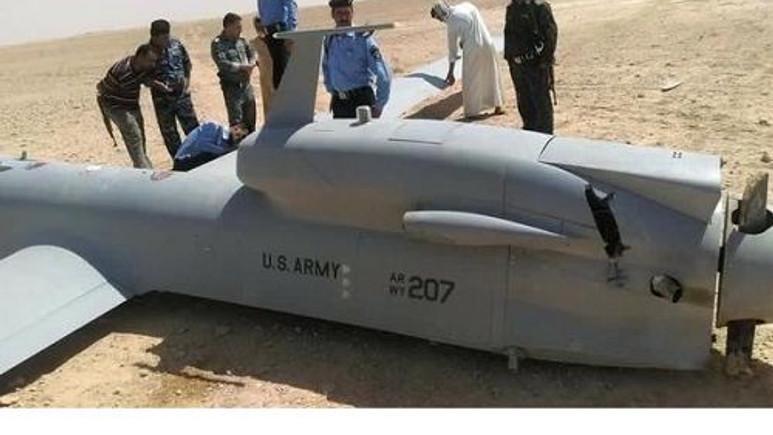 Amerikan insansız hava taşıtının ilginç kazası!