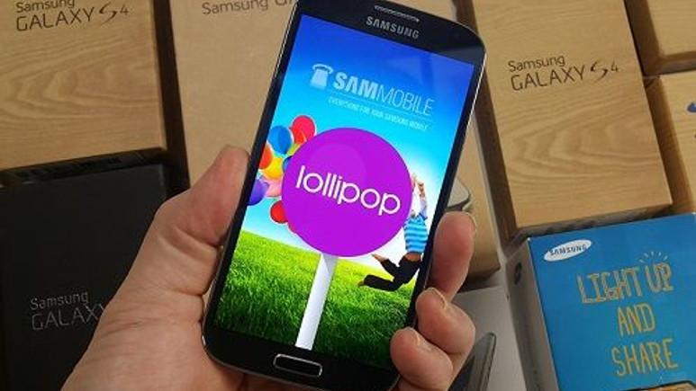 Galaxy S4 için uzun bir süredir beklenen Android 5.0 güncellemesi Türkiye'de