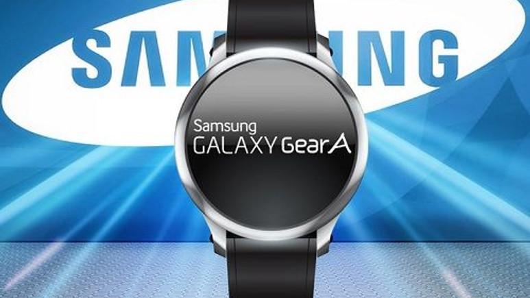 Samsung Gear A akıllı saat döndürülebilir çerçeveyle geliyor