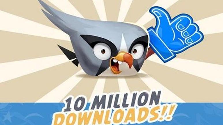 Angry Birds 2 10 milyon indirme sayısına ulaştı!