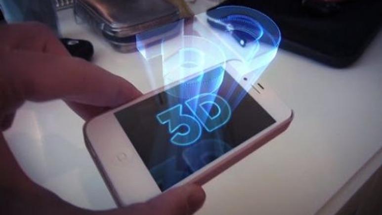 3D Hologram teknolojisini telefonunuzda yaşamaya ne dersiniz? Video