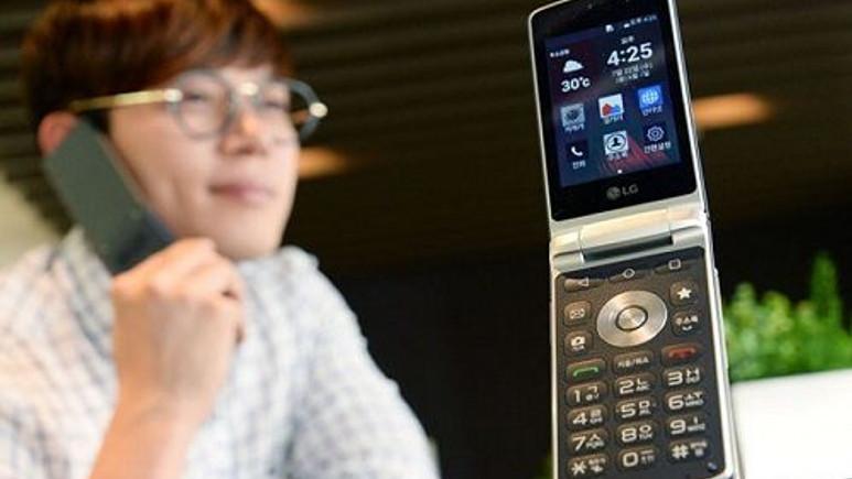 Kapaklı telefon LG Wine Smart global pazarda satışa çıkıyor