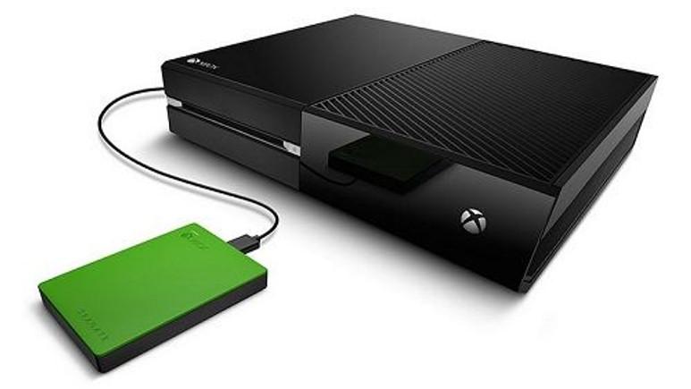 Seagate ve Microsoft'tan Xbox One'a özel 2TB'lık harici disk: Game Drive
