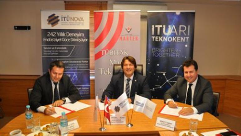 Tübitak Martek-İTÜNOVA TTO-İTÜ ARI Teknokent işbirliği protokolü imzaladı