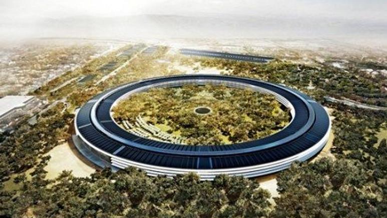 ''Apple Campus 2'' hızla yükseliyor