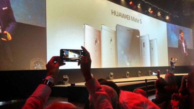 Huawei Mate S resmen tanıtıldı