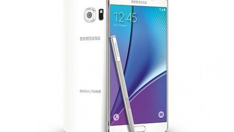 Galaxy Note 5'e güncelleme geldi!