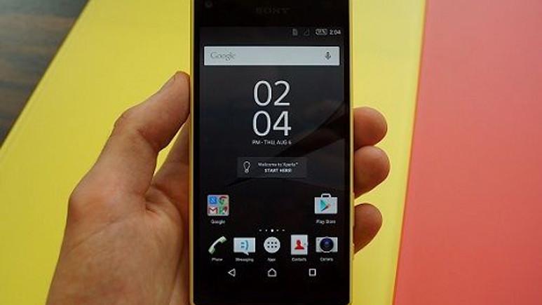 4GB RAM ve Full HD ekranlı ''Xperia Z5 Compact Premium'' geliyor