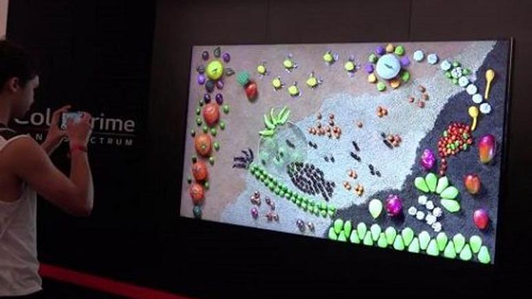 IFA 2015: LG'den ColorPrime ekran teknolojisine sahip 8K çözünürlüklü IPS LCD TV