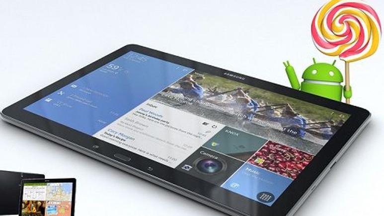 Samsung, Galaxy Tab Pro 12.2'yi direkt Android 5.1.1'e güncelledi