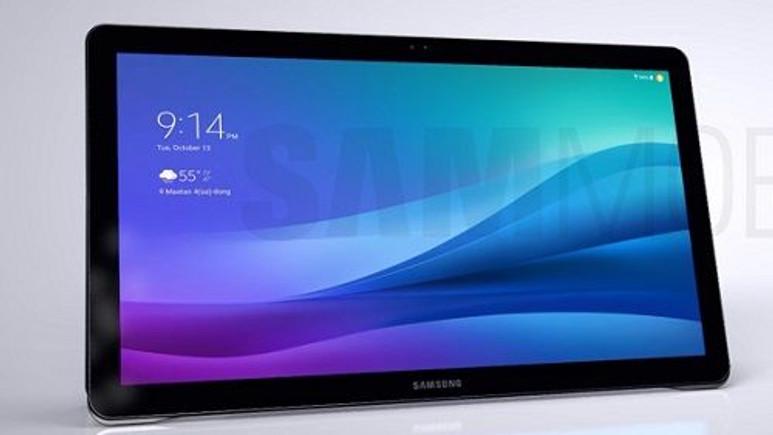 Samsung'un dev tableti Galaxy View sızdırıldı