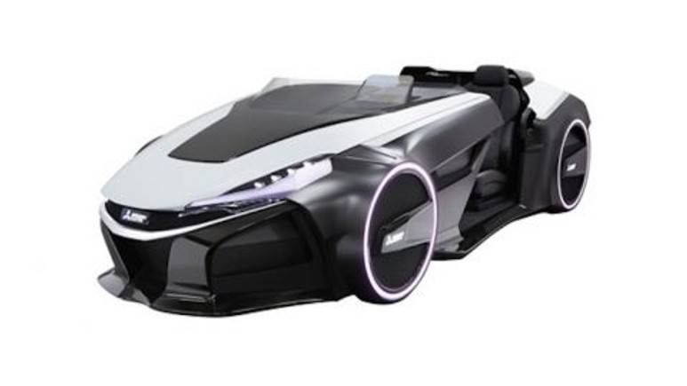 Mitsubishi'nin yeni otomobili tıpkı Batmobile!