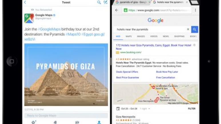 Google Chrome'a Split View Desteği Geldi