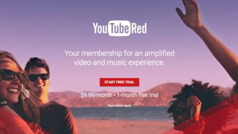 Paralı YouTube Red kullanılmaya başladı
