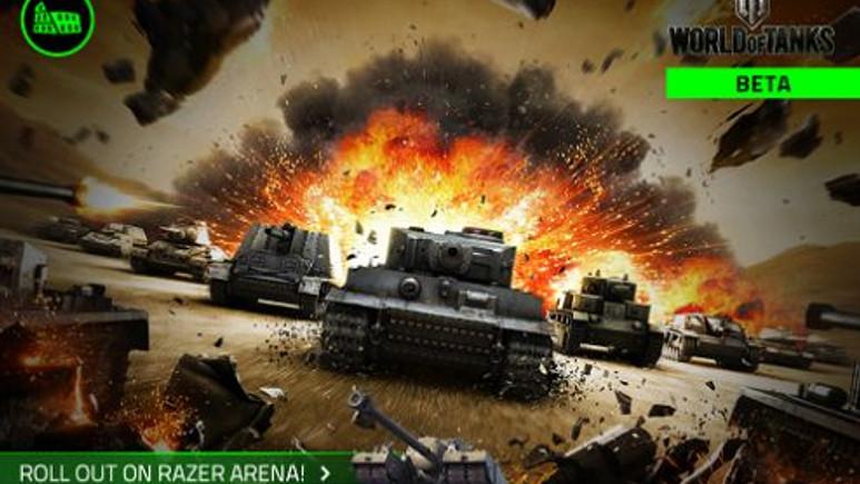 World of Tanks Razer Arenaya iniyor