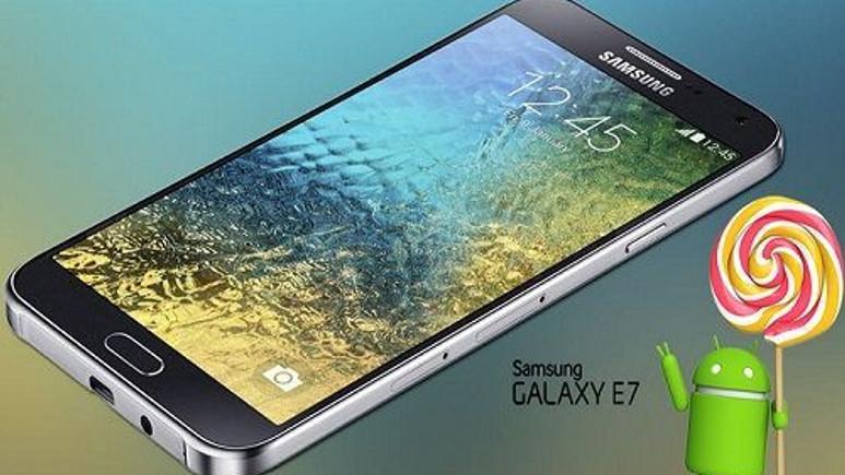 Samsung Galaxy E7, Android 5.1.1 güncellemesiyle buluştu