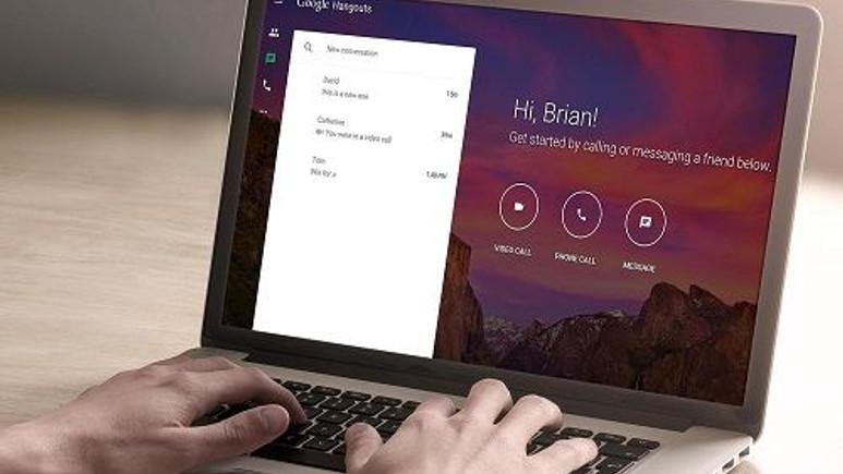 Google, Hangouts'un web sürümünü güncelledi