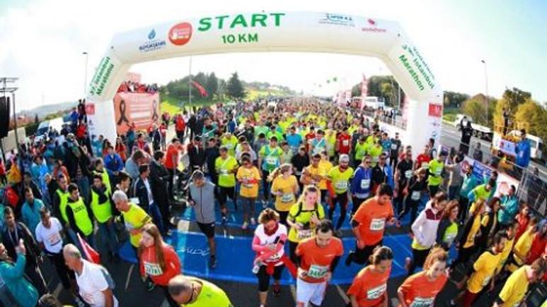 Vodafone 37. İstanbul Maratonu Gerçekleştirildi