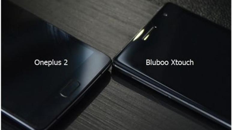 OnePlus 2'nin ekranı Bluboo Xtouch ekranına karşı
