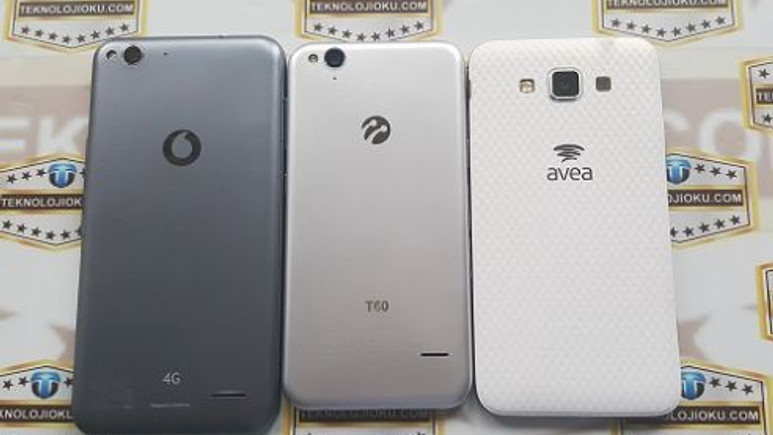 Avea Grand Max, Turkcell T60 ve Vodafone Smart 6 Fotoğraf Karşılaştırma