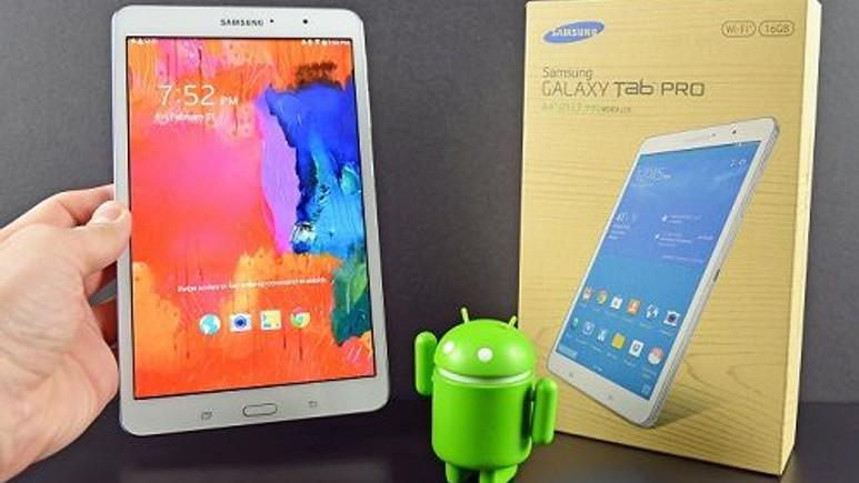 Samsung Galaxy Tab Pro, Android 5.0 güncellemesi bile almayacak